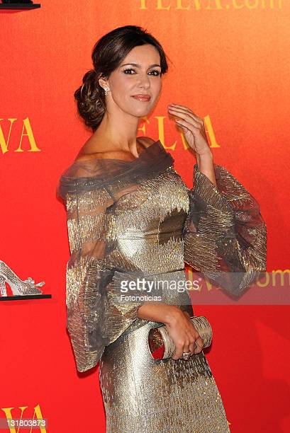 Arancha del Sol attends Telva Awards 2010 at the Palacio de Cibeles on October 25, 2010 in Madrid, Spain.