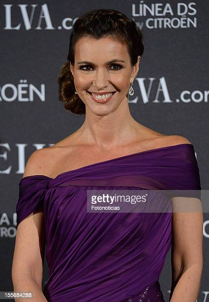 Arancha del Sol attends Telva Fashion Awards 2012 at the Palace Hotel on November 6, 2012 in Madrid, Spain.