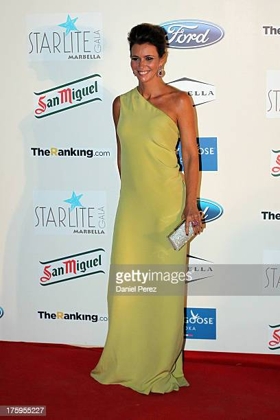Arancha del Sol attends the 4rd annual Starlite Charity Gala on August 10, 2013 in Marbella, Spain.