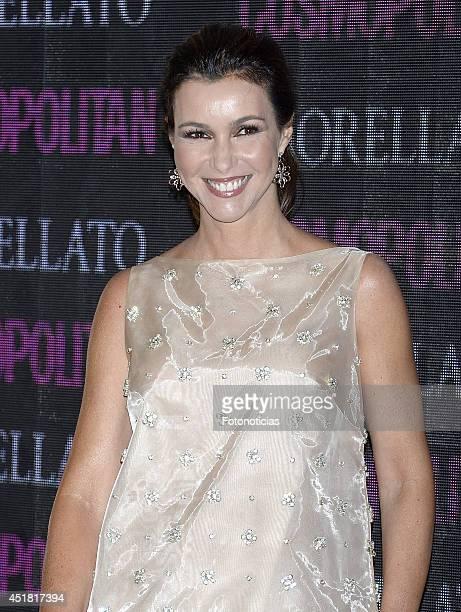 Arancha del Sol attends the Cosmopolitan Beauty Awards at Platea Restaurant on July 7 2014 in Madrid Spain