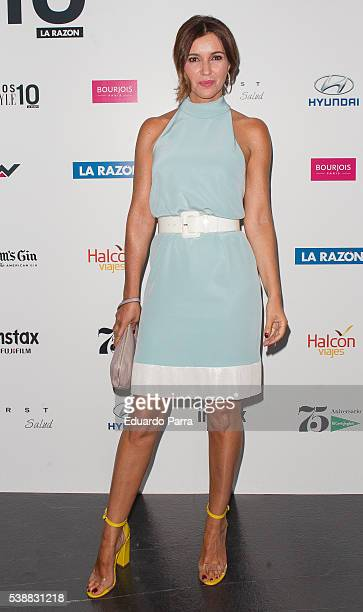 Arancha del Sol attends the 'Lifestyle awards' photocall at Barcelo theatre on June 8 2016 in Madrid Spain