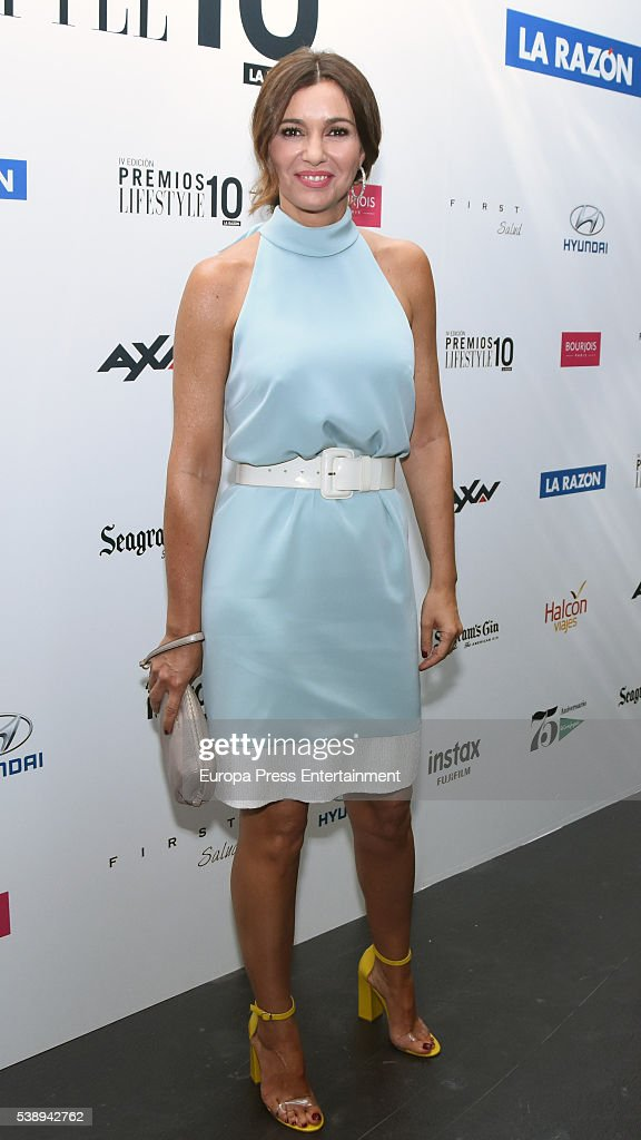 Arancha del Sol attends the 'Lifestyle awards' photocall at Barcelo theatre on June 8, 2016 in Madrid, Spain.