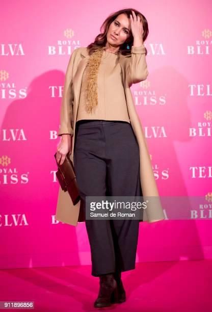 Arancha del Sol attends the 'Telva Awards' 30th Anniversary on January 29 2018 in Madrid Spain