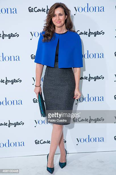 Arancha del Sol attends the 'Yo Dona Beauty Awards' 2014 ceremony at Hesperia hotel on October 30 2014 in Madrid Spain