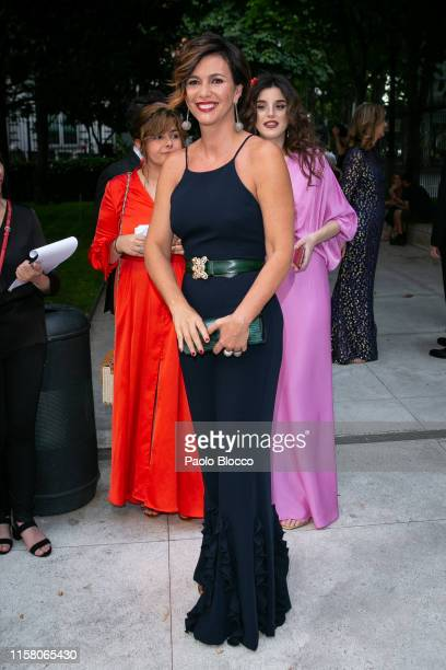 Arancha del Sol is seen arriving at 'Yo Dona' International Awards 2019 at Thyssen-Bornemisza Museum on June 24, 2019 in Madrid, Spain.