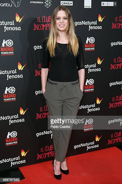 Arancha Marti attends 'El Club de los Incomprendidos' Premiere on December 1 2014 in Madrid Spain