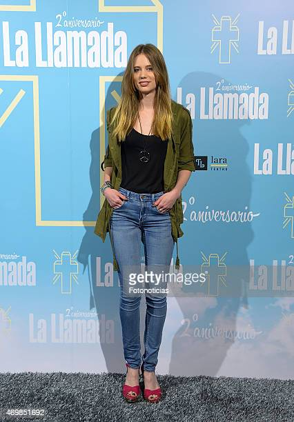 Arancha Marti attends 'La Llamada' premiere at the Lara Theater on April 15 2015 in Madrid Spain