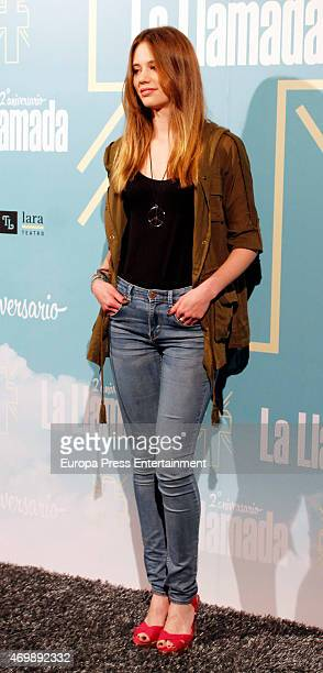 Arancha Marti attends 'La Llamada' premiere on April 15 2015 in Madrid Spain