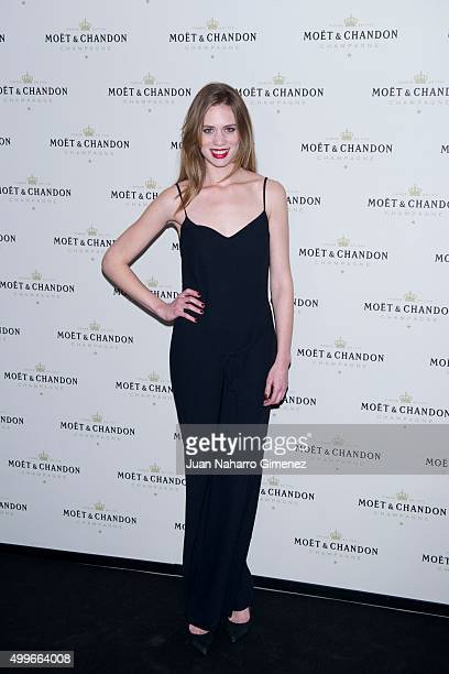 Arancha Marti attends 'Moet Chandon' party at Circulo de Bellas Artes on December 2 2015 in Madrid Spain