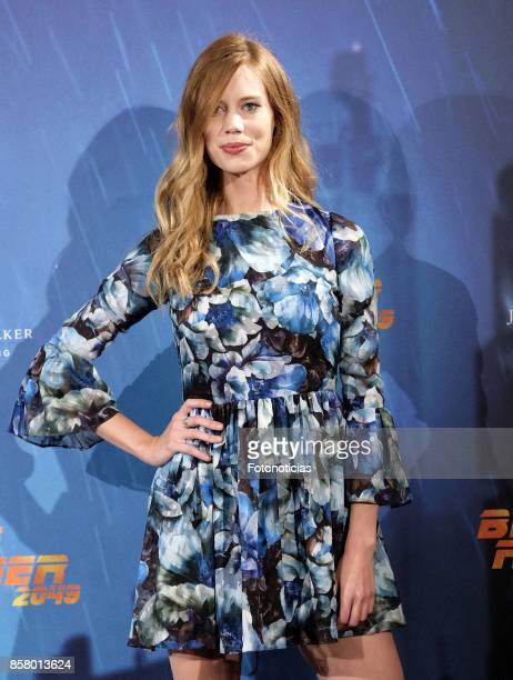Arancha Marti attends the 'Blade Runner 2049' premiere at the Callao City Lights cinema on October 5 2017 in Madrid Spain