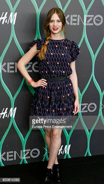 Arancha Marti attends the Kenzo X HM photocall at HM store on November 2 2016 in Madrid Spain