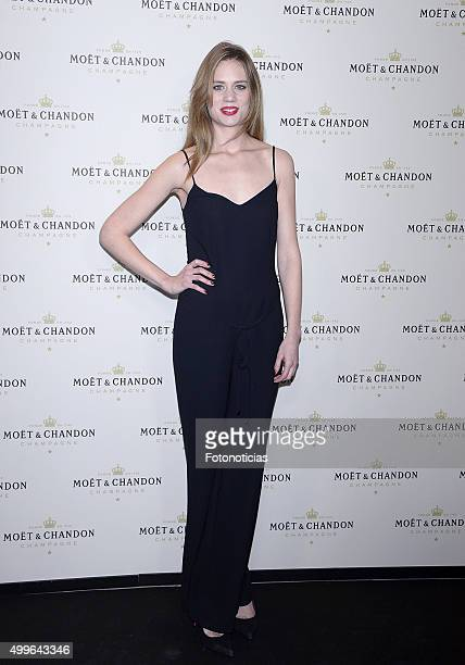 Arancha Marti attends the 'Moet Chandon' Party at the Circulo de Bellas Artes on December 2 2015 in Madrid Spain