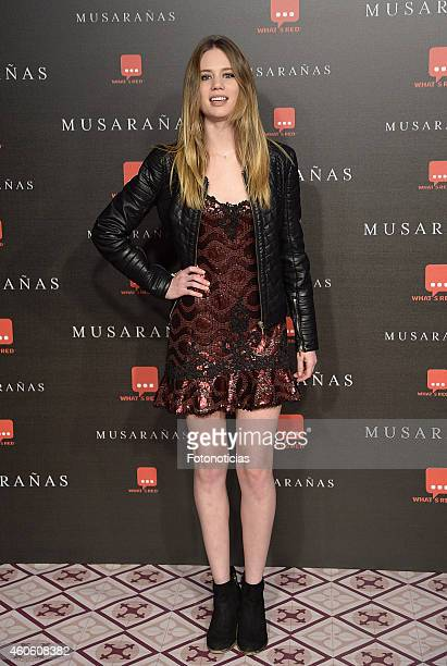 Arancha Marti attends the 'Musaranas' Premiere at the Capitol Cinema on December 17 2014 in Madrid Spain