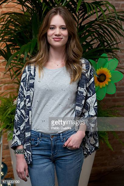 Arancha Marti attends the new 'Alma en Pena' Spring/Summer collection presentation at 'Espacio Mood' on April 29 2015 in Madrid Spain