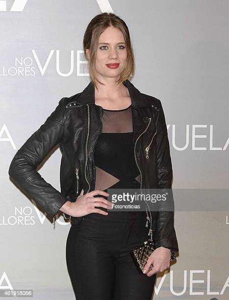 Arancha Marti attends the 'No Llores Vuela' premiere at Callao Cinema on January 21 2015 in Madrid Spain