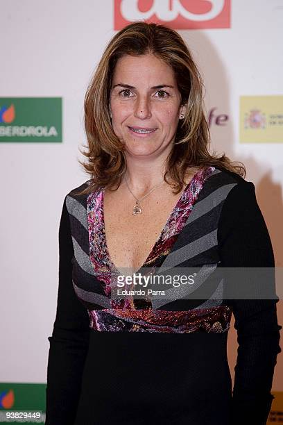 Arancha Sanchez Vicario attends As del Deporte 2009 Awards photocall at City Hall on December 3 2009 in Madrid Spain
