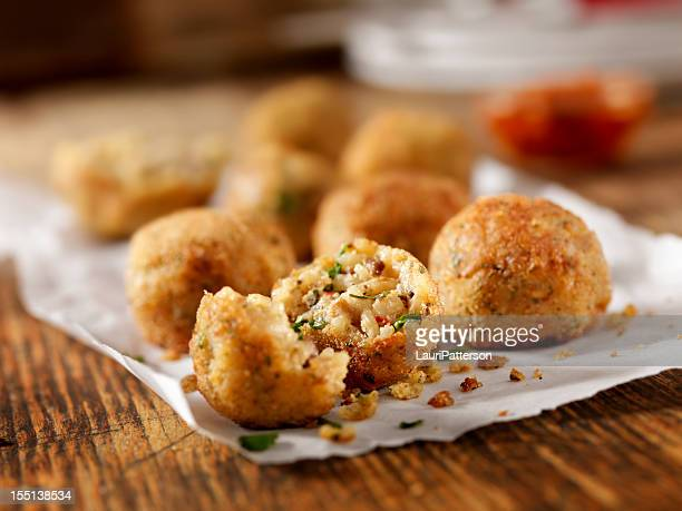 arancini - stuffing stock photos and pictures