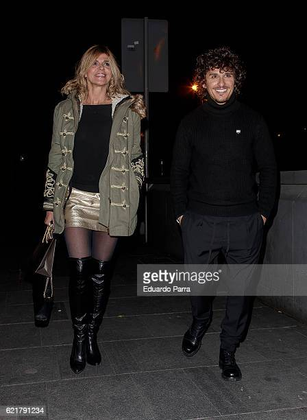 Arantxa de Benito and Agustin Etienne attend the Carmen Borrego birthday party on November 8 2016 in Madrid Spain