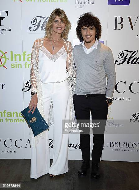 Arantxa de Benito and Agustin Etienne attend the 'Flamenco Solidario' party at Bucca on April 7 2016 in Madrid Spain