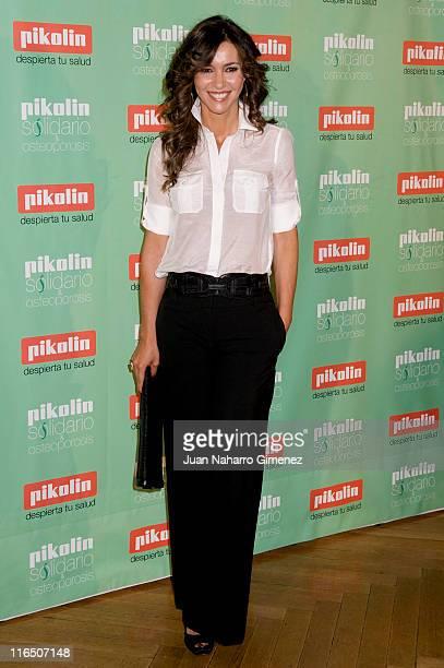 Arantxa del Sol attends 'Pikolin Charity Matress' presentation at Santo Mauro Hotel on June 16, 2011 in Madrid, Spain.