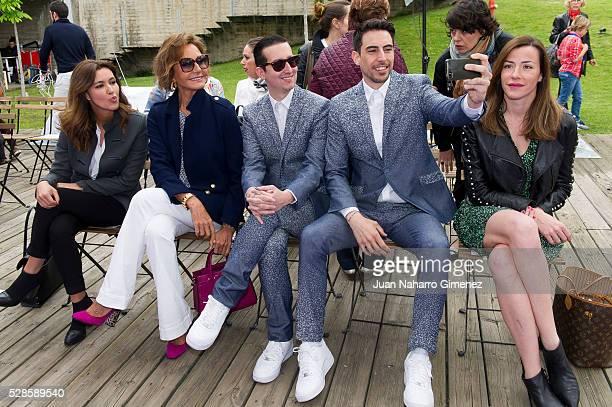 Arantxa del Sol Nati Abascal Crawford Pepino Marino and Ines Sainz attend 'Dia Magico' fashion show during FIMI at Pabellon Satelite de la Casa de...