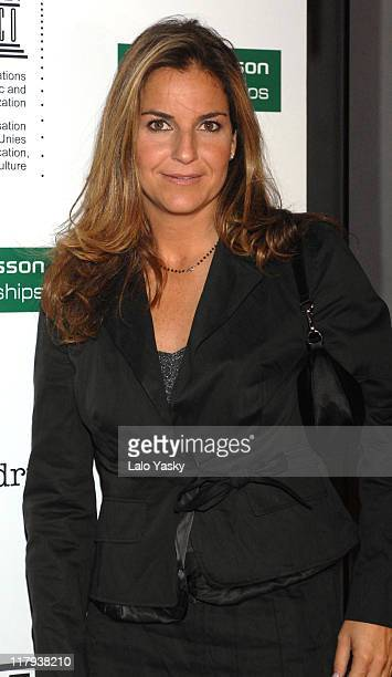 Arantxa Sanchez Vicario during 2006 Sony Ericsson Championships Official Party at MOMA Club in Madrid Spain
