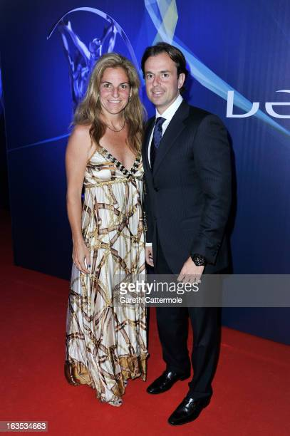 Arantxa SanchezVicario and guest attends the 2013 Laureus World Sports Awards at the Theatro Municipal Do Rio de Janeiro on March 11 2013 in Rio de...