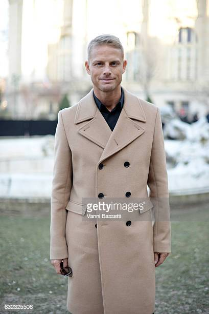 Aranud Lemaire attends the Dior Homme Menswear Fall/Winter 20172018 show as part of Paris Fashion Week on January 21 2017 in Paris France
