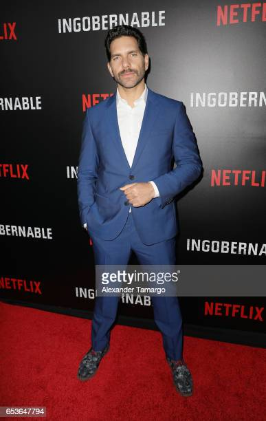Arap Bethke arrives at the Netflix Ingobernable S1 Premiere Miami Screening 2017 on March 15 2017 in Miami Beach Florida
