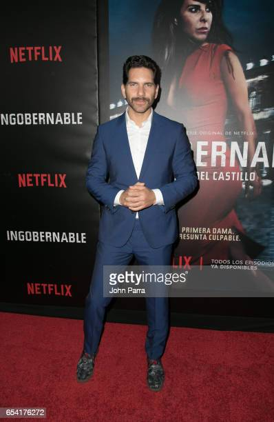 Arap Bethke arrives at the Premiere Of Netflix's 'Ingobernable' at Colony Theater on March 15 2017 in Miami Beach Florida
