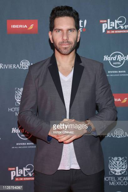 Arap Bethke attends a red carpet for the shortlist presentation of the Premios Platino at Cineteca Nacional on February 18 2019 in Mexico City Mexico