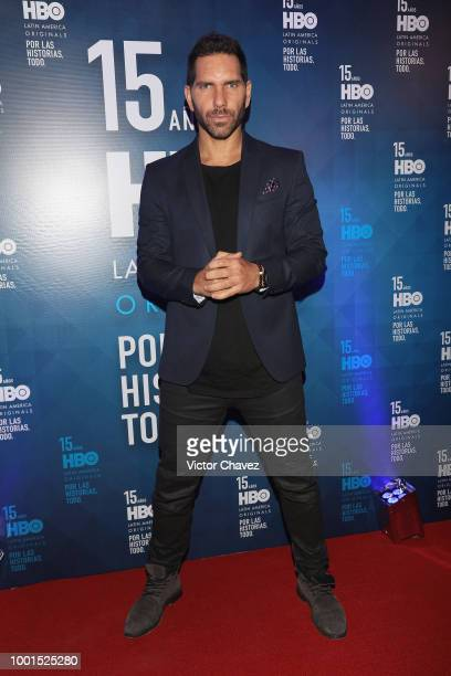 Arap Bethke attends the HBO Latin America 15 Years celebration red carpet at Soumaya Museum on July 18 2018 in Mexico City Mexico