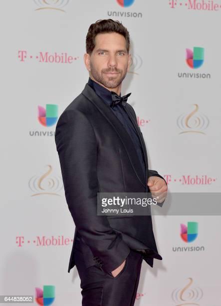 Arap Bethke attends Univision's 29th Edition of Premio Lo Nuestro A La Musica Latina at the American Airlines Arena on February 23 2017 in Miami...