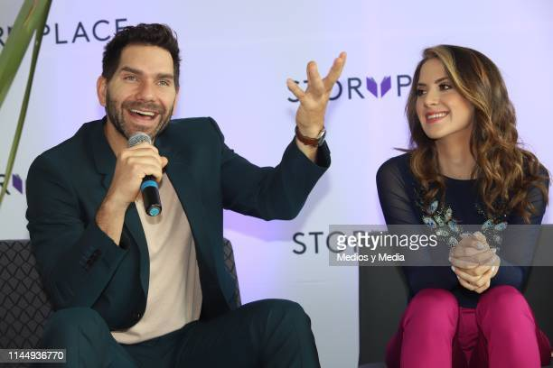 Arap Bethke speaks during 'Story Place' App Launch on April 24 2019 in Mexico City Mexico