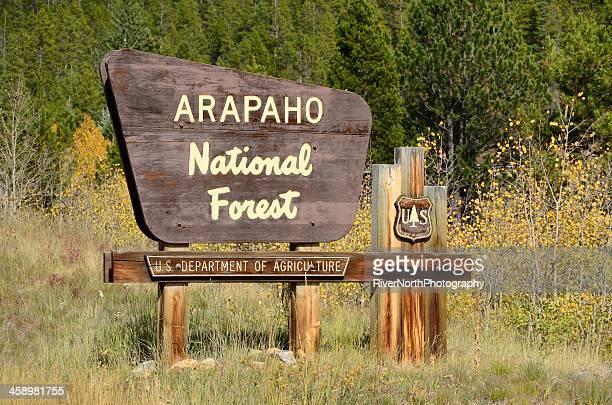 arapaho national forest - national forest stock pictures, royalty-free photos & images
