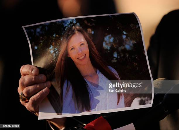 Arapahoe County Sheriff Grayson Robinson displayed a photo of shooting victim Claire Davis who was shot at Arapahoe High School Friday December 13...
