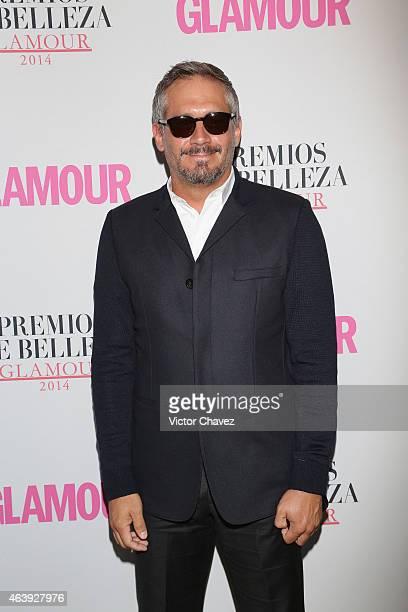 Arath de la Torre attends premios de belleza Glamour 2014 at salon Mayita on February 19 2015 in Mexico City Mexico