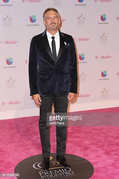 Arath de la Torre attends Univision's 28th Edition of Premio Lo Nuestro A La Musica Latina on February 18 2016 in Miami Florida