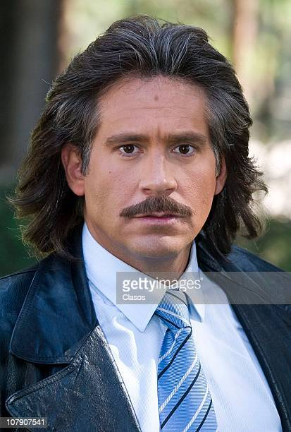 Arath de la Torre poses for a photograph during the first day of recording of the soap opera Una Familia Con Suerte on January 5 2010 in Mexico City...