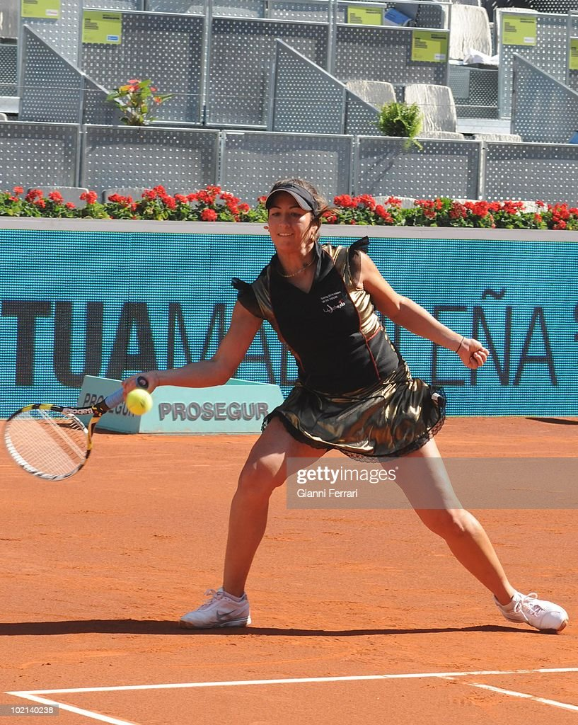 Aravane Rezai, FRA, tennis in 'Mutua Madrilena Madrid Open' , 8th May 2010, in 'La Caja Magica'. Madrid, Spain.