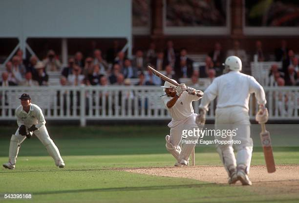Aravinda de Silva batting for Kent during his innings of 112 in the Benson and Hedges Cup Final between Kent and Lancashire at Lord's Cricket Ground...