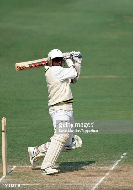 Aravinda de Silva batting for Sri Lanka during the 1st Test match between England and Sri Lanka at Lord's Cricket Ground in London 22nd August 1991...