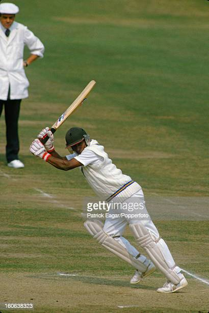 Aravinda de Silva batting in Sri Lanka's first Test at Lord's 1st Test England v Sri Lanka Lord's August 1984