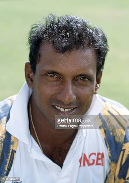 Aravinda de Silva of Sri Lanka during the 1998 tour of England at Lord's Cricket Ground London 10th July 1998