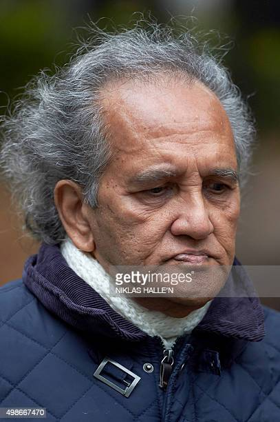 Aravindan Balakrishnan arrives at Southwark Crown Court in London on November 25 2015 A charismatic Maoist cult leader brainwashed and raped...