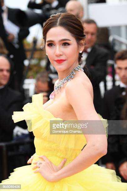 Araya A Hargate attends the screening of Sink Or Swim during the 71st annual Cannes Film Festival at Palais des Festivals on May 13 2018 in Cannes...