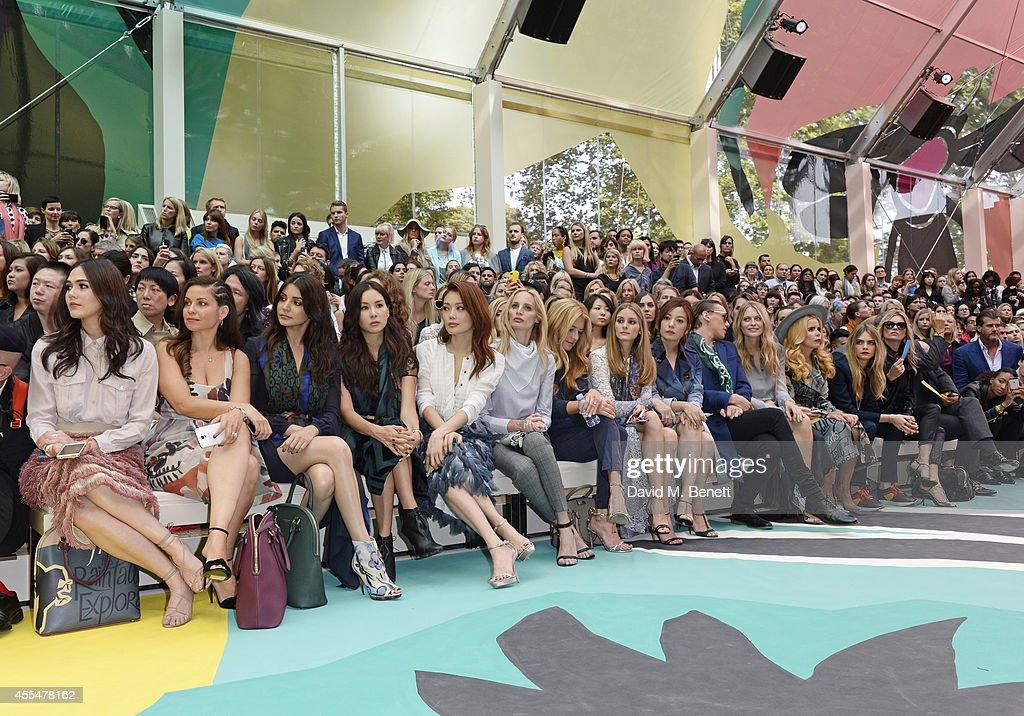 Burberry Womenswear SS15 - Front Row & Show