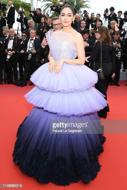 Araya Hargate attends the opening ceremony and screening of The Dead Don't Die during the 72nd annual Cannes Film Festival on May 14 2019 in Cannes...