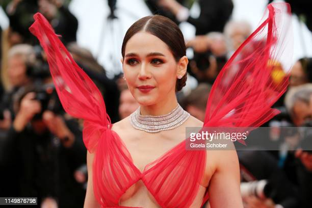 Araya Hargate attends the screening of Pain And Glory during the 72nd annual Cannes Film Festival on May 17 2019 in Cannes France
