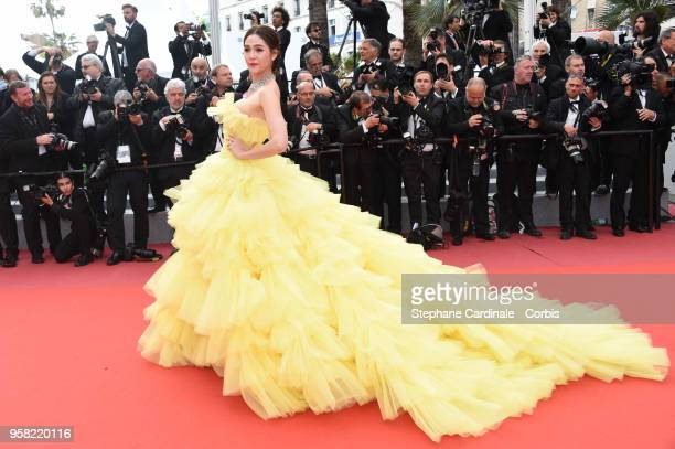 Araya Hargate attends the Sink Or Swim Photocall during the 71st annual Cannes Film Festival at Palais des Festivals on May 13 2018 in Cannes France